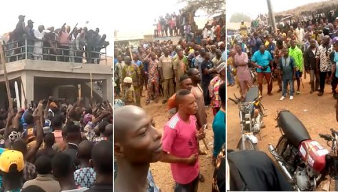 2 Dead, Property Worth Millions Destroyed As Herdsmen, Sunday Igboho's Supporters Clash