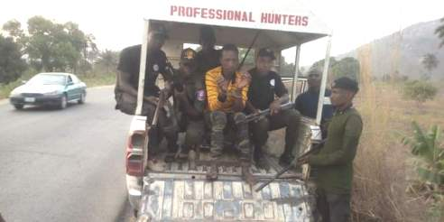 Hunters Arrest Leader Of kidnap Gang Terrorising Lokoja-Okene Road