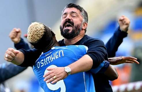 Super Eagles Star, Osimhen  Returns From Injury To Score And inspire Napoli  To 3-1 Victory