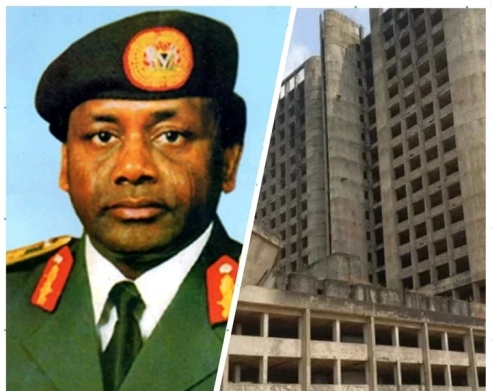 Abandoned Abacha's 18-Storey Building Turned To Lagos Criminal Den