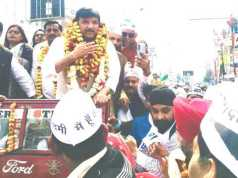 Lucknow, Aam Aadmi Party, MP Sanjay Singh, AAP