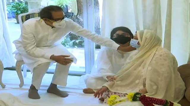 CM Uddhav Thackeray given honour to Dilip Kumar Saheb