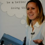 Hannah Waldram of the Guardian speaking as part of news:rewired's panel on building communities.