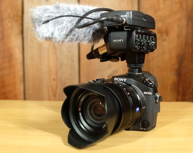 Camera Cage Fight Sony RX10 II V Canon XC10 By Slavik