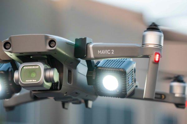 lume cube dji mavic 2 drone lighting