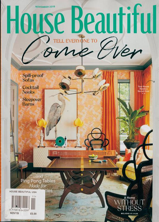 House Beautiful Usa Magazine Subscription Buy At Newsstand Co Uk Home Interiors