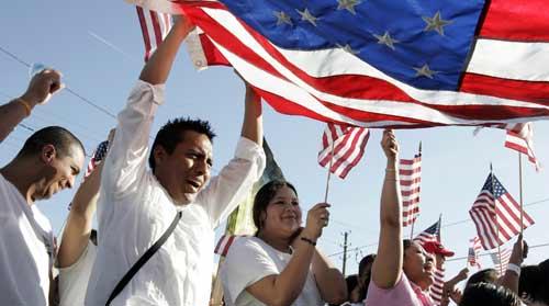 latinos flag