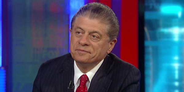Judge Napolitano benched by Fox News for now at least