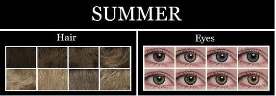 summer type characteristics