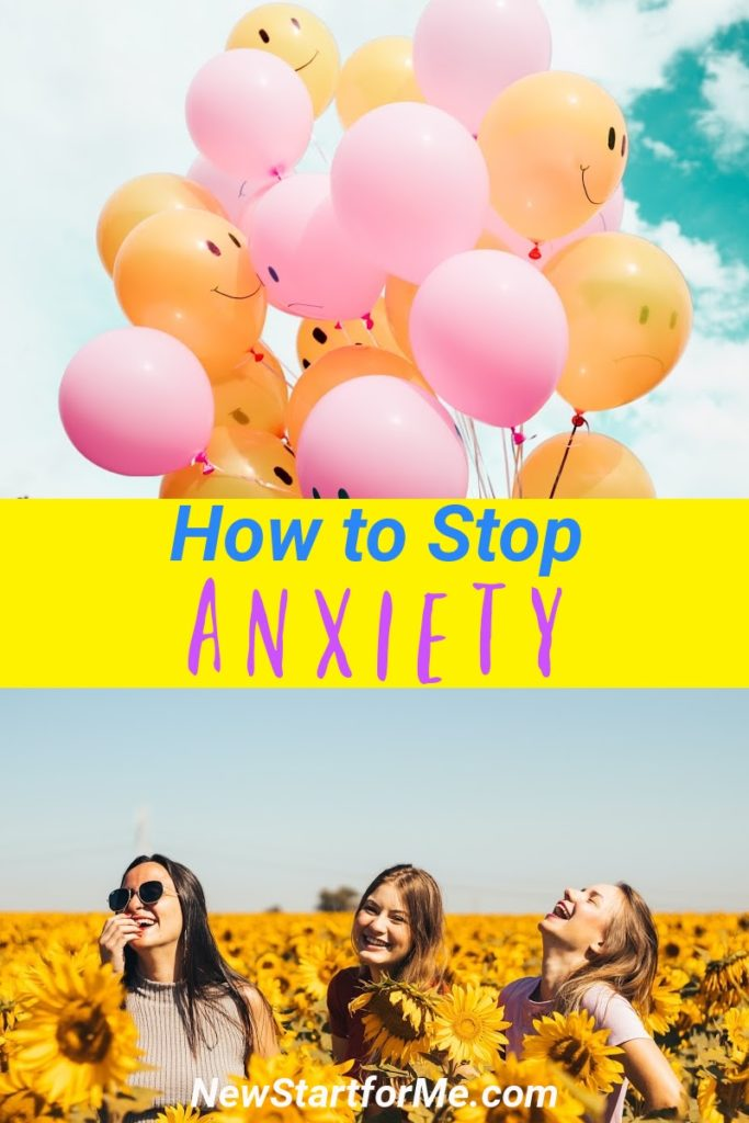 Thankfully, mercifully, there ARE ways to control anxious thoughts and stop anxiety in its tracks.