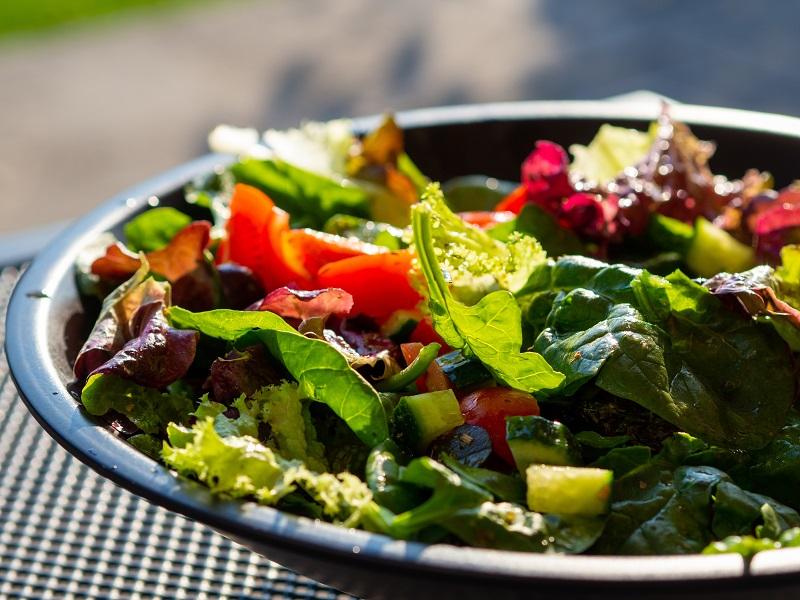 Refreshing Salad Recipes Close Up of a Bowl of Salad