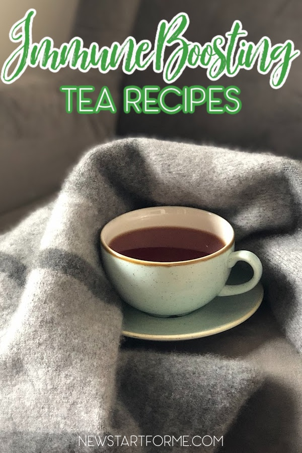 The best immune boosting tea recipes can help you shorten your recovery time when you catch a cold or flu or just feeling under the weather.