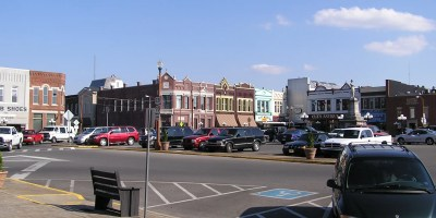The town square in Lebanon, Tennessee. Photo: Eric Polk(Epolk)