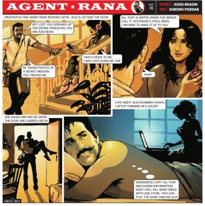 Agent, rana, TOI, juggi,bhasin, subodh, poddar, alia, journalist, RAW, secret, agent,