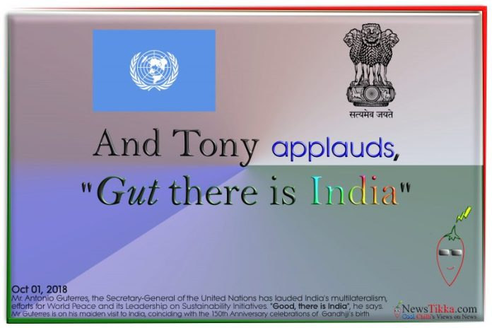 antonio,guterres,india,united,nations,secretary,general,sustainability,terrorism,peace,multilateralism,gandhi,