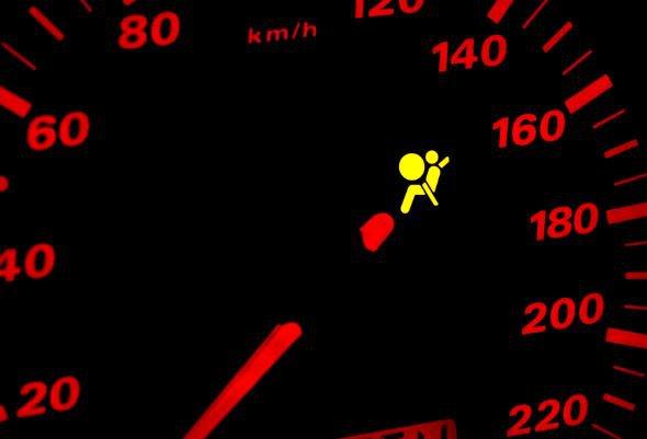 Airbag Arıza Işığı İkaz Lambası Uyarı Işığı Hava Yastığı Uyarı ışığı