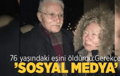 76 Yaşındaki Eşini Öldürdü: Gerekçe 'sosyal medya'…!