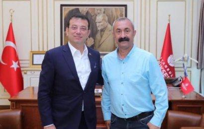 Mehmet Fatih Maçoğlu Ekrem İmamoğlu'nu Ziyaret Etti