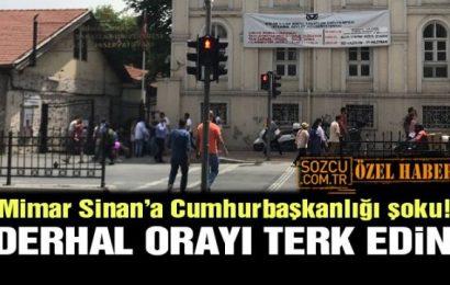 Mimar Sinan'a Tahliye Şoku: Çıkmazsanız Elektriğinizi Suyunuzu Keseriz…!