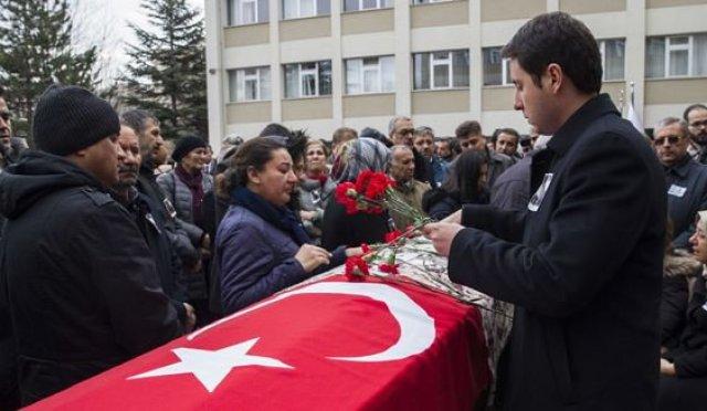 Ceren Damar'ın Cenazesi