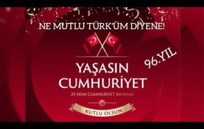 Cumhuriyetimizin 96.Yılında Cumhuriyet Bayramımızı Kutluyor! Atatürk'ü Bir Kez Daha Saygıyla Anıyoruz