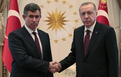 Metin Feyzioğlu,Cumhurbaşkanı Erdoğan'ı Ziyareti Sonrası Hukuku Üstün Kılmalıyız Dedi