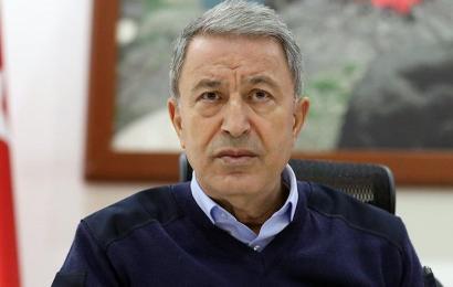 """Milli Savunma Bakanı Hulusi Akar """"Barış Pınarı Harekatı"""" İle İlgili Açıklama Yaptı"""