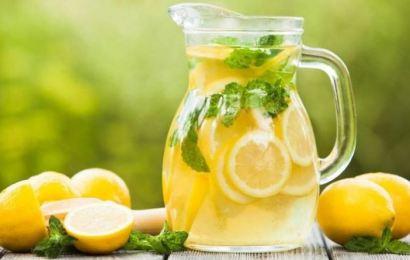 Şekersiz ve Katkı Maddesiz Doğal Limonata Tarifi