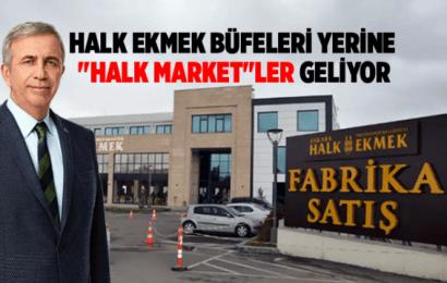Ankara Büyükşehir Belediye Başkanı Mansur Yavaş Halk Ekmek Büfeleri Yerine Halk Marketleri Geliyor