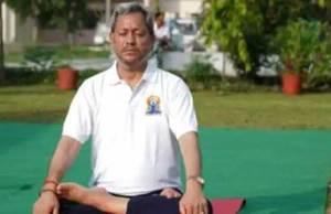 Uttarakhand CM TSR