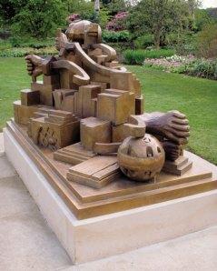 A Maximis Ad Minima, 1998, Bronze, Image Courtesy Royal Botanic Gardens, Kew.