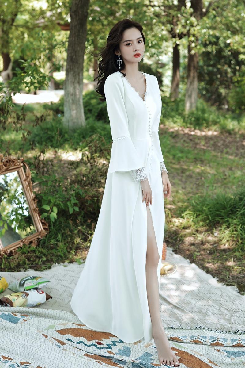 2021 Elegant Women's Dress,Fashion Discount Long Sleeve ...
