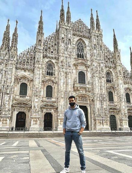Sam Asghari loves traveling