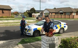Waikato Police bring cheer to 5-years-old b'day boy