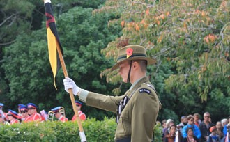 Lest we forget – 'Stand at Dawn' call on Anzac Day