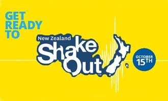 Get ready for NZ ShakeOut – 15 Oct