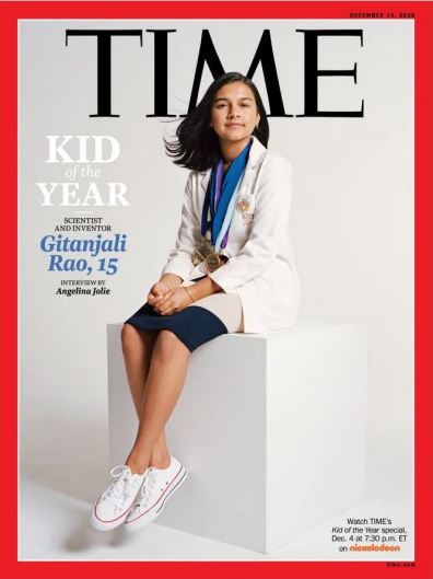 Times's Kid of the Year-Gitanjali