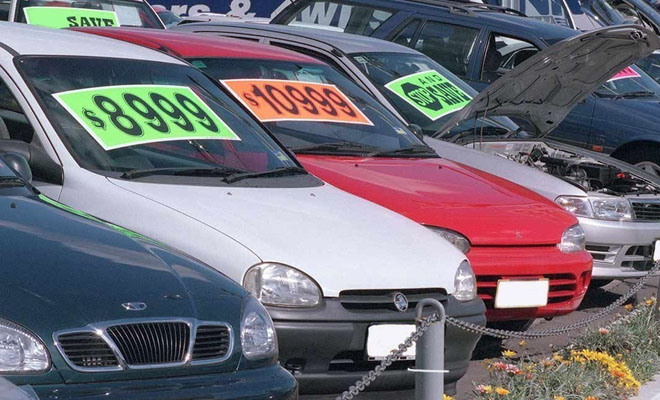 Used car dealer fined over 'as is where is' claims