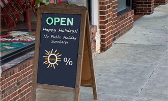 Businesses must clearly disclose public holiday surcharges, says ComCom