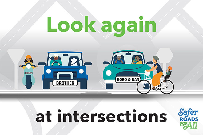 'Look Again' is focus of city's new road safety campaign