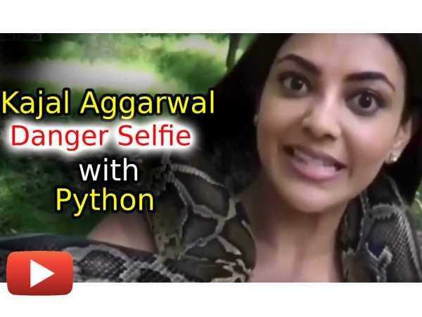 kajal-aggarwal-playing-with-a-python