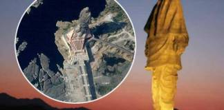 statue-of-unity-from-space-1
