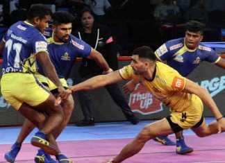 tamil thalaivas defeat telugu titans first time in pro kabaddi league 2018,