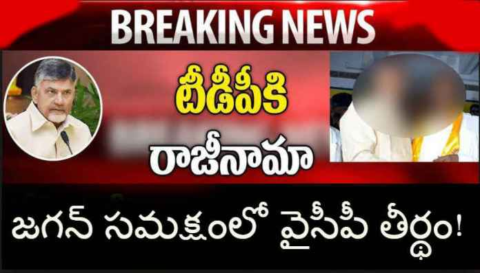 TDP resigned as sitting MLA News, TDP Latest Updates, YCP Latest News, Newsxpressonline