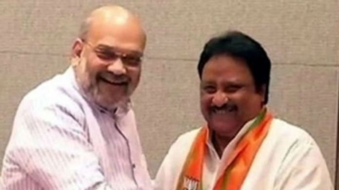 jitendar reddy joined in bjp
