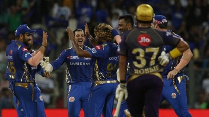 Mumbai Indians crush KKR and take SRH along to playoffs