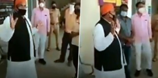 A BJP MLA from Uttar Pradesh, caught on camera warning people against buying vegetables from Muslims amid the nationwide coronavirus.