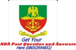 Nigerian Defence Academy 2014/2015 66TH Regular Course Form still on sale