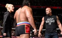 WWE News. image of The Rock returns