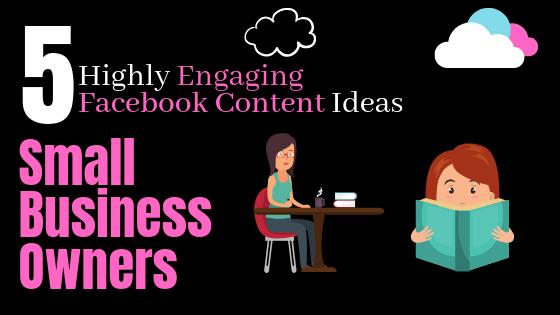 Facebook Content Ideas